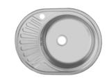 мойка врезная 577х450 мм Правая