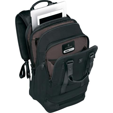 Рюкзак Victorinox Lexicon Professional Bellevue 17'', черный, 32x20x47 см, 30 л