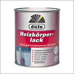 Эмаль для отопительных приборов Dufa HEIZKORPERLACK (Белый)