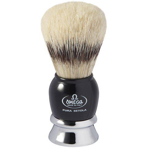 Помазок для бритья Omega натуральный кабан 11648