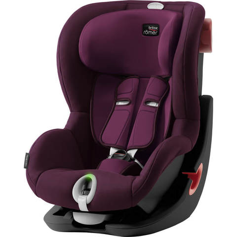 Автокресло Britax Roemer King II LS Burgundy Red