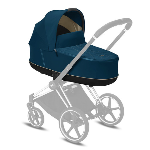 Спальный блок Cybex Lux Carrycot  Priam III Mountain Blue