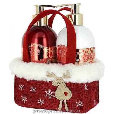 Vivian Gray Red Christmas Set – Набір для рук (крем-мило, лосьйон)
