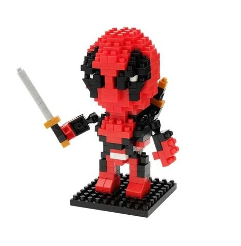 Education toys Deadpool || Конструктор из наноблоков Дэдпул