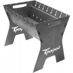 Мангал разборный Тонар Трофей в чехле, сталь 1,5 мм T-MT-01С
