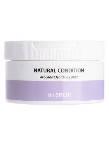 Крем для очищения кожи лица с авокадо THE SAEM Natural Condition Avocado Cleansing Cream