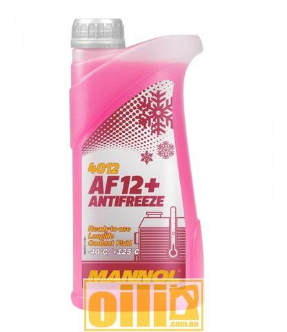 Mannol 4012 Antifreeze AF12+ -40°C Longlife 1л