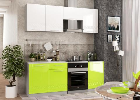 Кухня Капля 3D 2100 мм