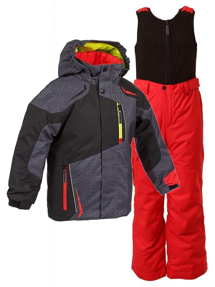 Костюм зимний для мальчика ALEKSANDER K25XSE-GY998-A15