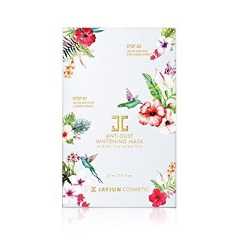 JayJun ANTI DUST WHITENING MASK осветление, лифтинг, 3-х этапная