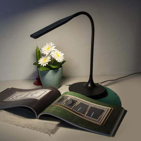 Настольный светодиодный светильник 80422/1 черный 80422/1