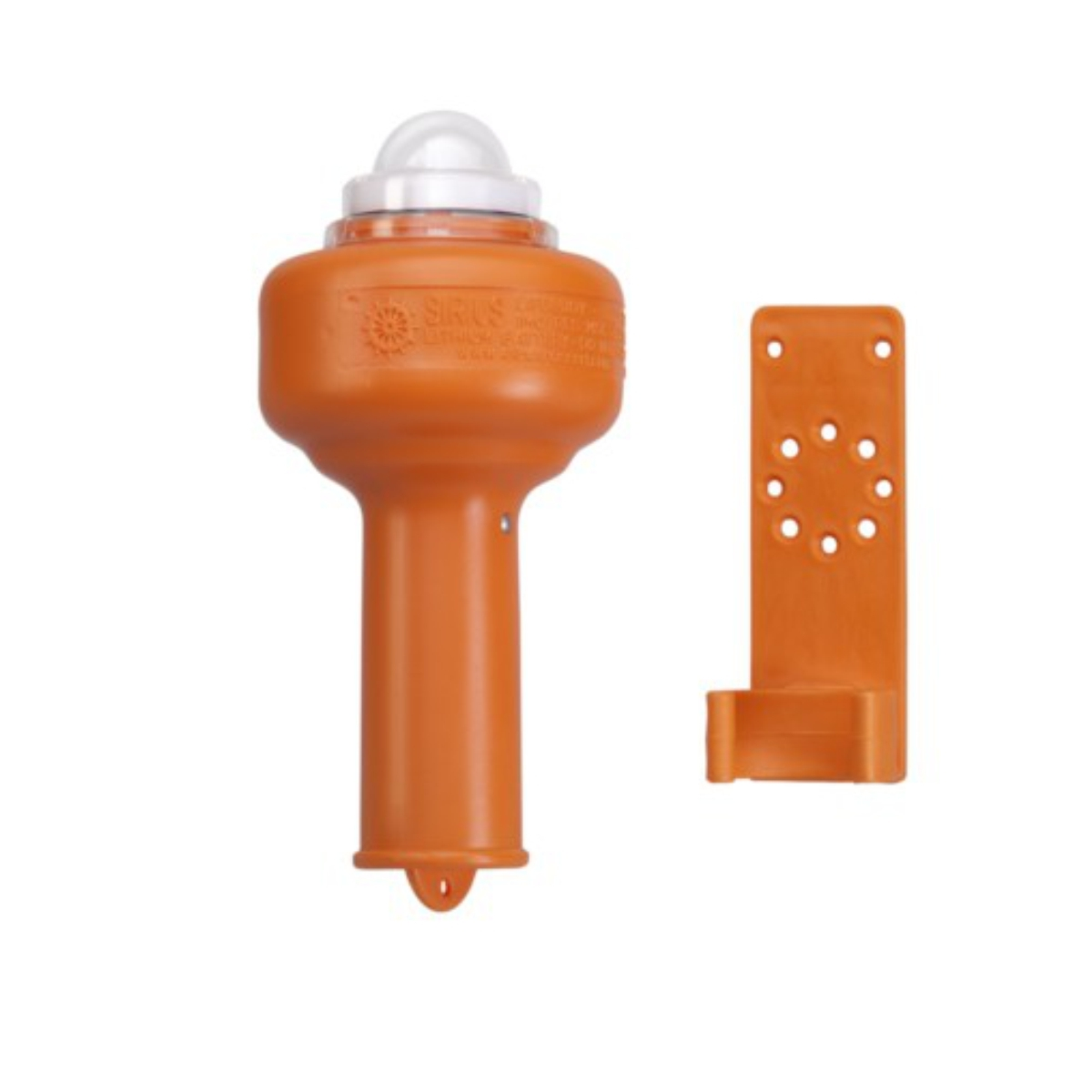 Floating LED-type lithium lifebuoy light