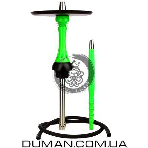 Кальян Alpha Hookah Model X | Шахта Green Fluor