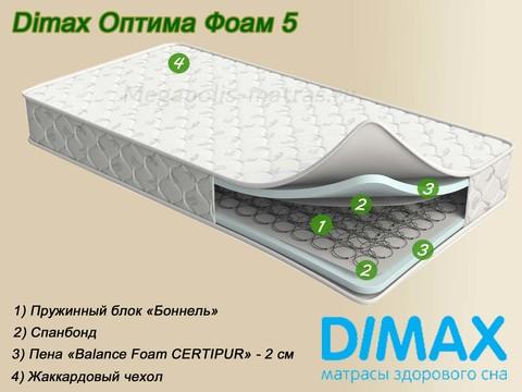 Матрас Dimax Оптима Фоам 5 от Мегаполис-матрас