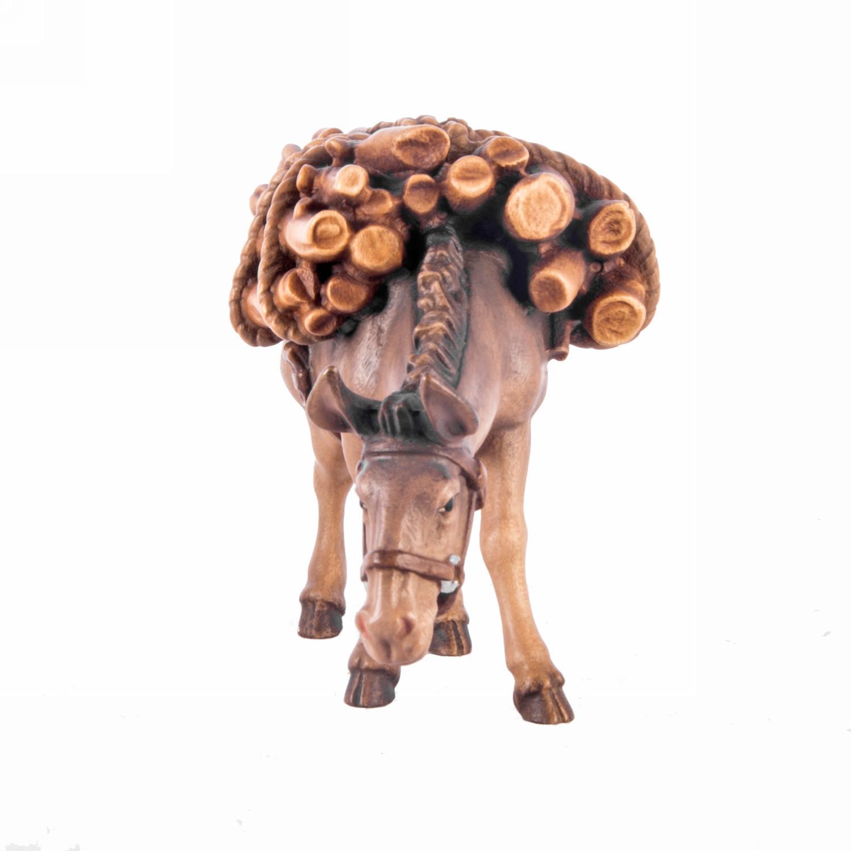 Осел с вязанкой дров