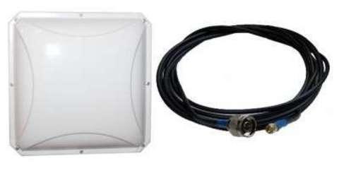Антенный комплект усиления LTE сигнала для wi-fi роутера Пригородный-4G-15,5db