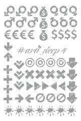 Трафарет Arti Deep № 04