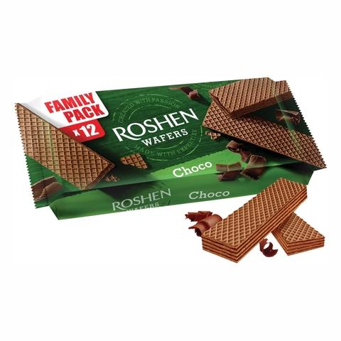 Вафли ROSHEN Wafers Шоколад 216 г УКРАИНА