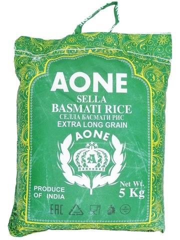 Рис Селла Басмати пропаренный AONEi, 5 кг (Индия)