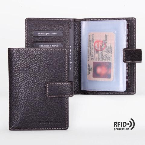 211 R - Обложка для документов с RFID защитой