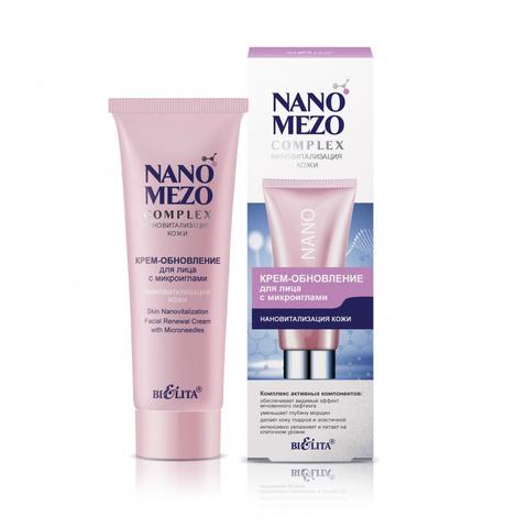 Белита NANOMEZOComplex Крем-обновление для лица с микроиглами Нановитализация кожи 50мл