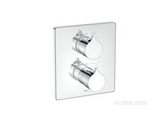 INSIGNIA Смеситель термостатический для ванны-душа скрытого монтажа (для установки с RocaBox A525869403) Roca 5A0C3AC00 фото