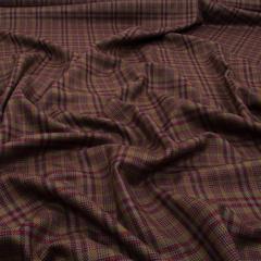 Фактурная плательно-костюмная шерсть