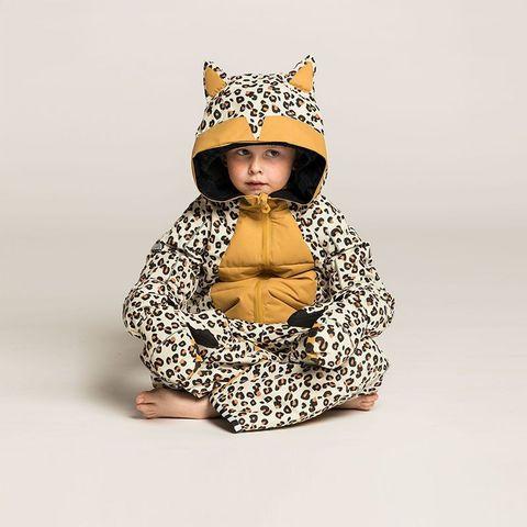 Комбинезон Weedo Leo Brown (леопард)