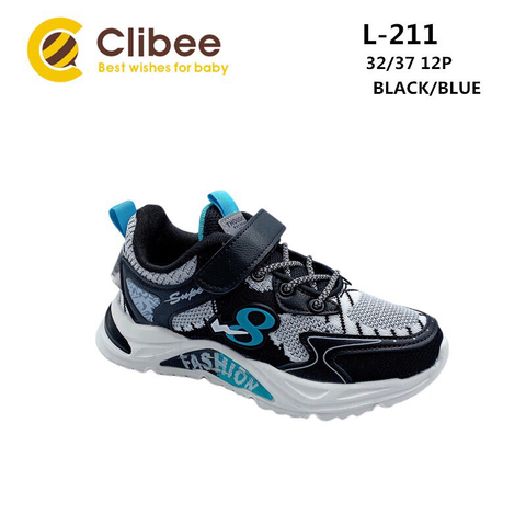 Clibee L211 Black/Blue 32-37