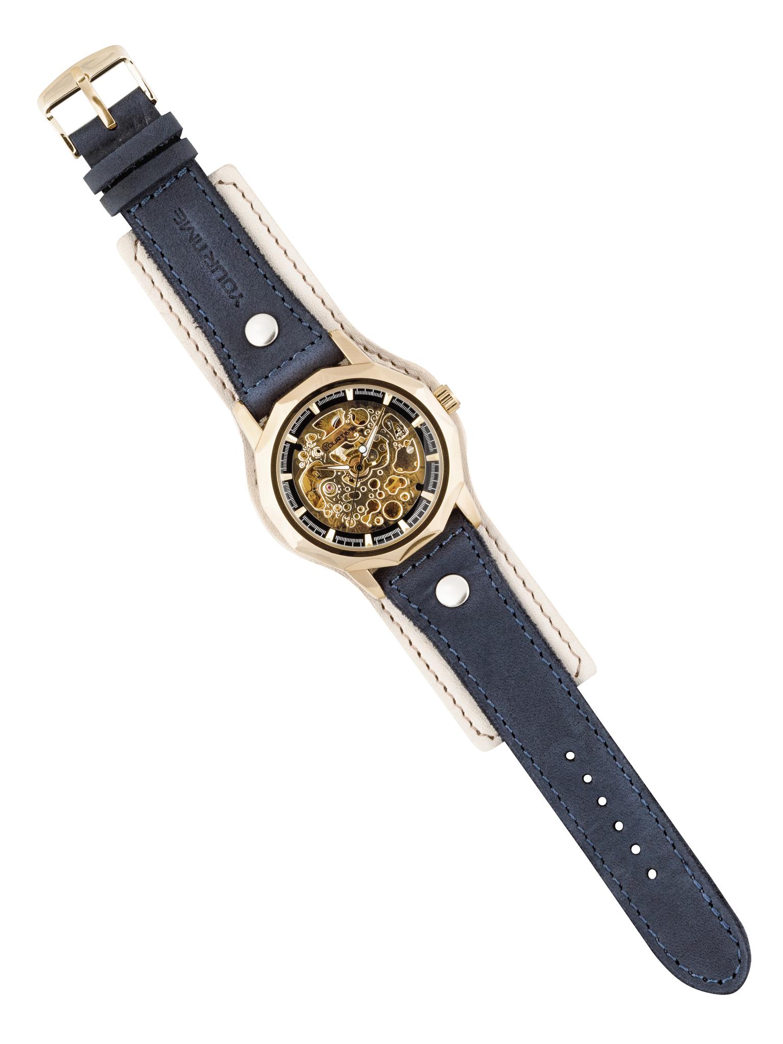 Часы скелетоны женские механические Elegant YOURTIME