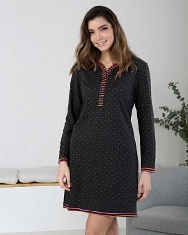 Ночная сорочка женская с длинными рукавами Massana ML_717235