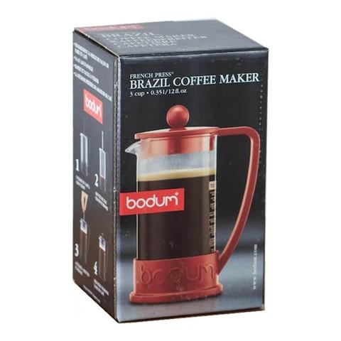 Френч-пресс Bodum Brazil (0,35 литра), черный