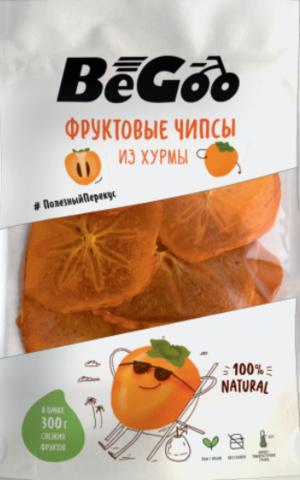 Фруктовые чипсы из хурмы «BeGoo», без сахара 30 г