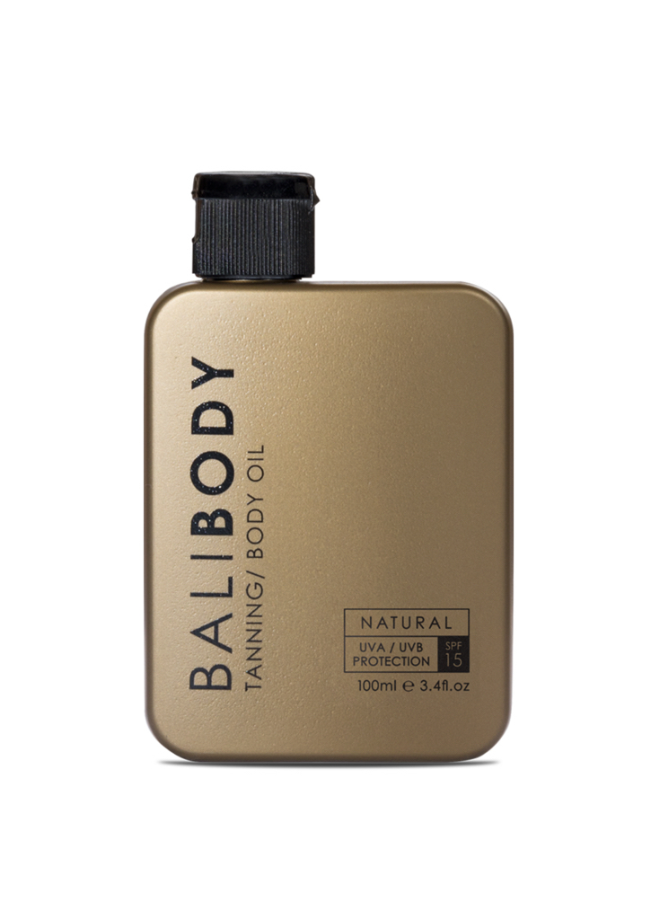 Bali Body Natural Tanning and Body Oil SPF15