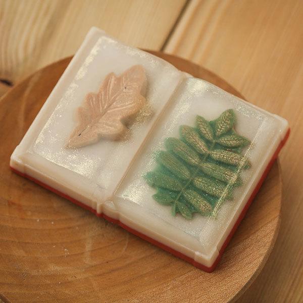 Мыло, изготовленное по форме Книга