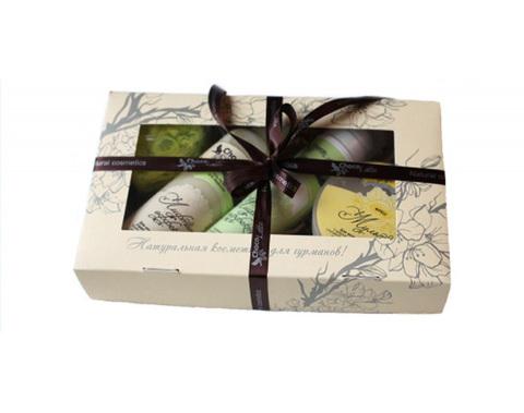 Подарочный набор №10 для лица НОРМА-ДЕРМ, для всех типов кожи, ТМ Сhocolatte