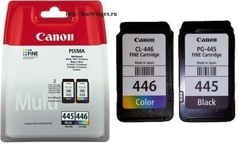 Картридж PG-445+CL-446 / 8283B004 набор