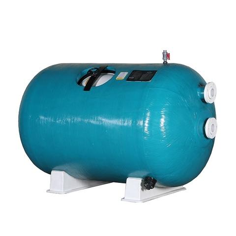 Фильтр горизонтальный шпульной навивки PoolKing HL 216 м3/ч 2000 мм х 4000мм с боковым подключением 8