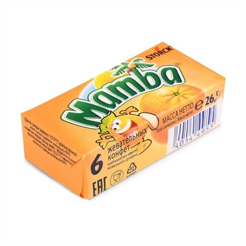 Конфеты жев MAMBA 26,5 гр ГЕРМАНИЯ