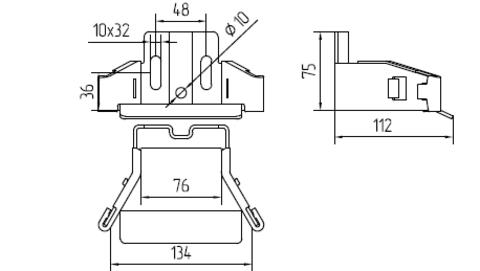 Улавливатель Нижний Alutech(Беларусь) до 450 кг
