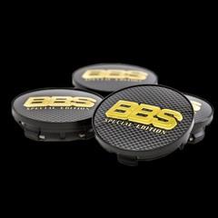 Крышка центрального отверстия BBS Special Edition 70.6 мм gold/carbon