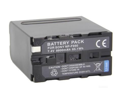 Аккумулятор NP-F990 (Батарея для видеокамер Сони ) JNT