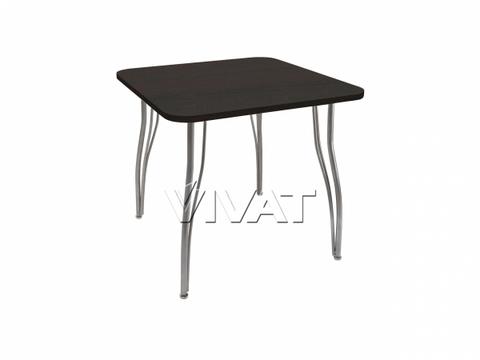 Стол обеденный квадратный LС (ОС-12) Черное дерево