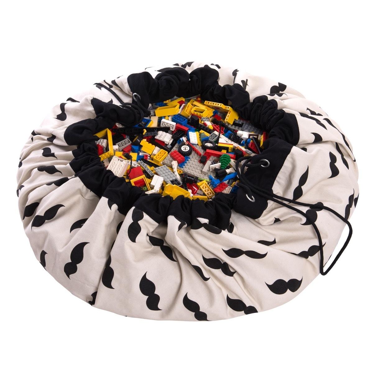 Коврик-мешок для игрушек Play&Go. Коллекция Print. Мистер Мусташ