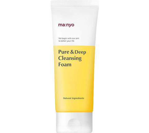 Купить Manyo Factory Pure Deep Cleansing Foam - Пенка для глубокого очищения пор с керамидами