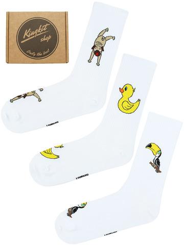 Набор Мопс, утенок и тукан 3-47