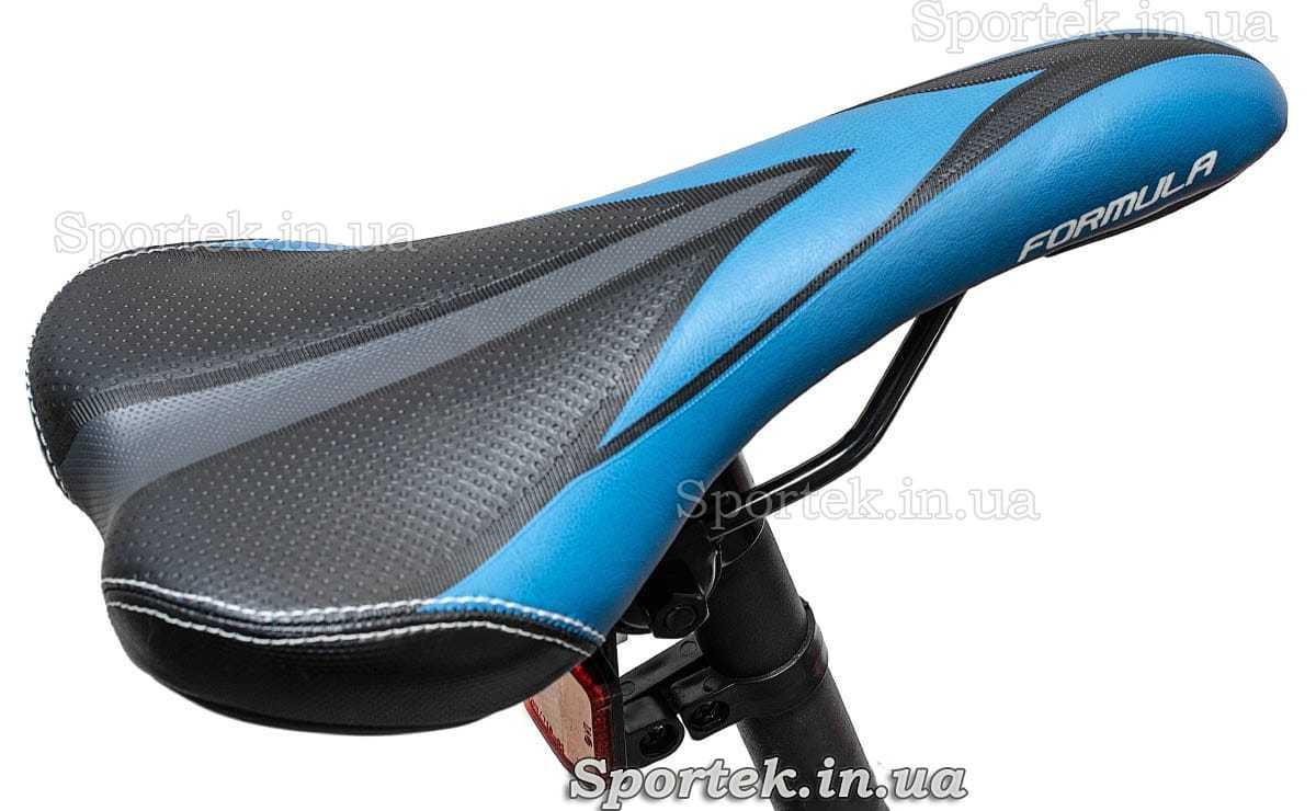 Сидіння гірського універсального велосипеда Formula Blaze DD 2016 чорно-синє