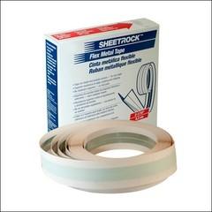 Соединительная лента с металлическими вставками SHEETROCK (30,4м*5,2см) (белый)