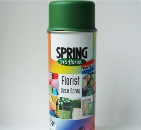 Краска-спрей SPRING (объем:400мл) Цвет: 011, оливково-зеленый