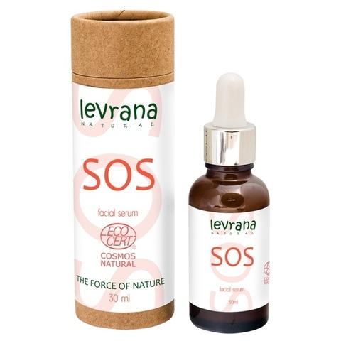 Levrana противоспалительная сыворотка для лица SOS 30 мл